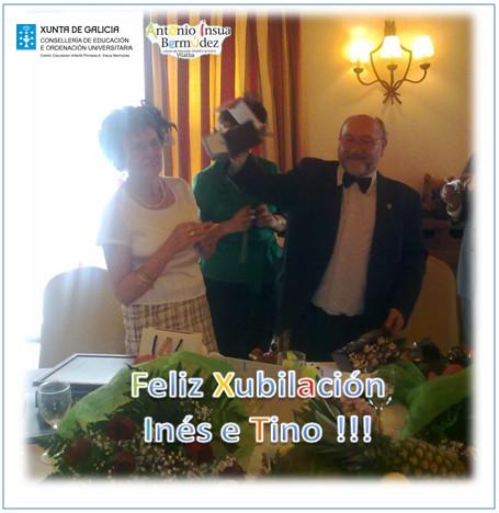 Xubilación Inés L. e Tino do CEIP A.Insua Bermúdez Vilalba Lugo