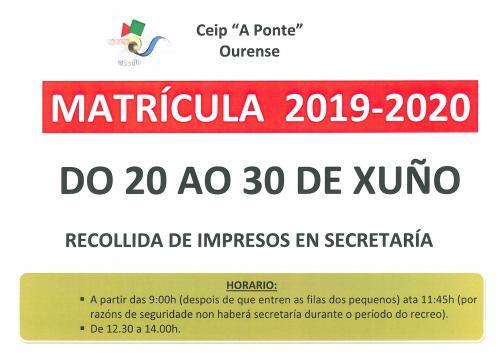 Calendario Laboral Ourense 2020.Ceip A Ponte Ourense Benvidos Ao Noso Cole