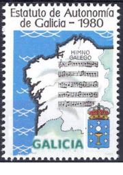Conmemoración da Constitución e do Estatuto de autonomía de Galicia.