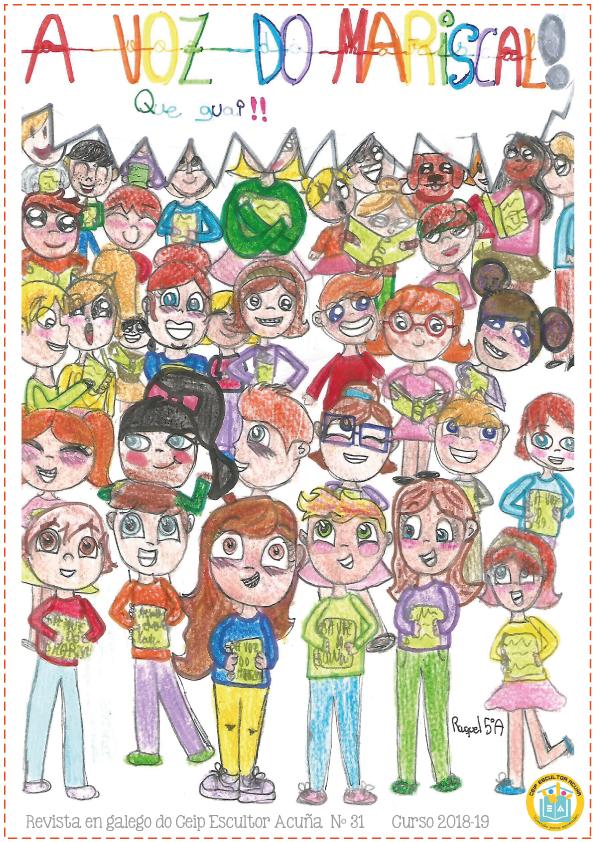 Revista Escolar A Voz do Mariscal 2018-2019