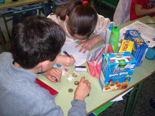 O alumnado de 4 de primaria elabora problemas matem ticos - Comedores escolares xunta ...
