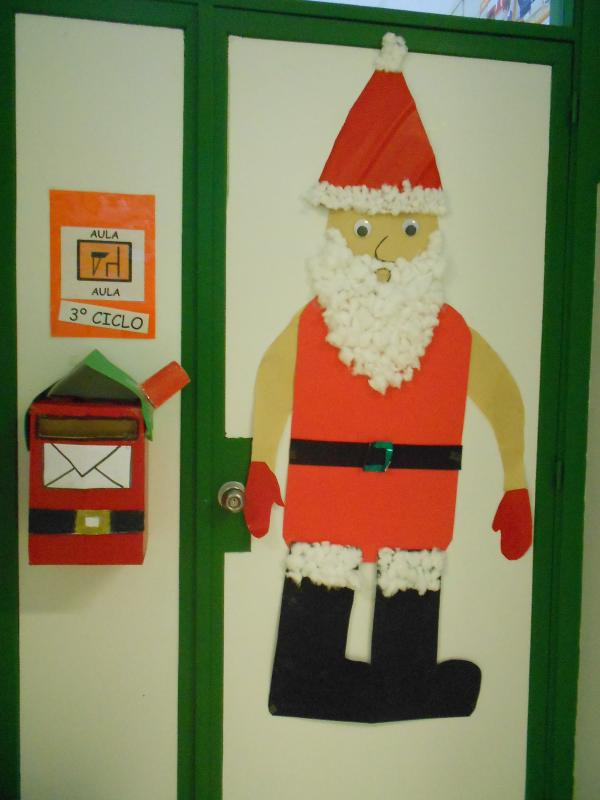 Decoraci n nadal ceip de fonte escura - Adornos de nadal ...
