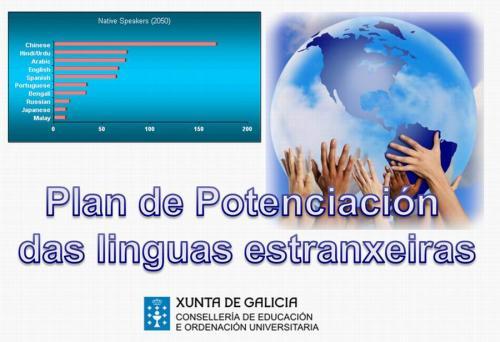 potenciación de linguas extranxeiras