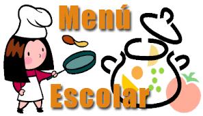 Menús do comedor escolar | CEIP Rosalía de Castro