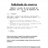 Solicitude Reserva Curso 2018 - 2019