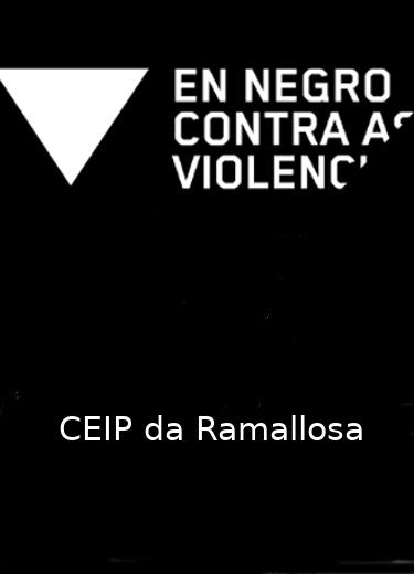 En negro, contra a violencia de xénero.
