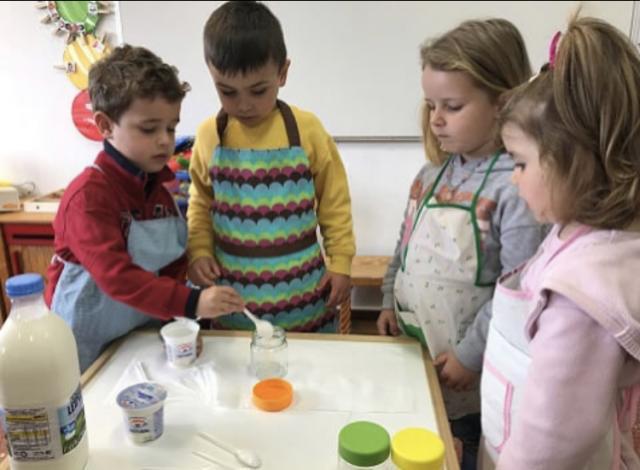 Taller de elaboración de iogures