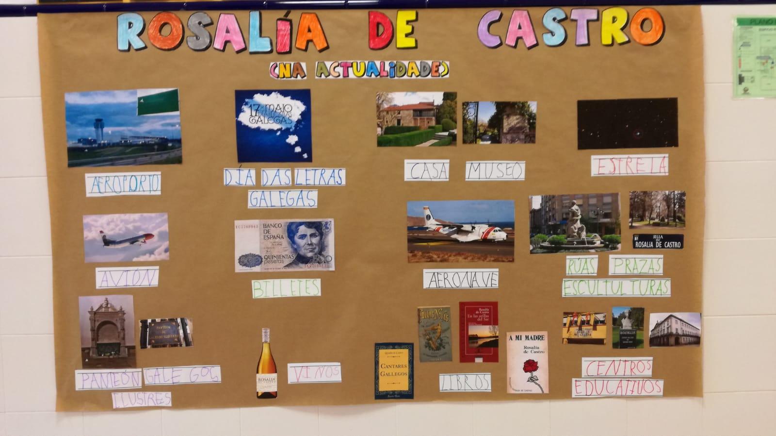 Día de Rosalía de Castro - Mural