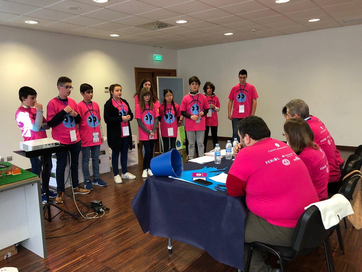 Sansabotics 3.0 na FLL 2018 en Ferrol