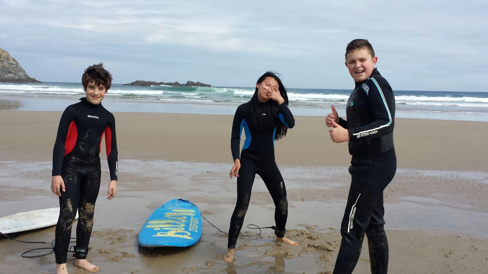 DÍA DE SURF PARA OS DE 1º E 2º ESO