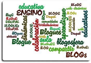 cartel blogs educativos