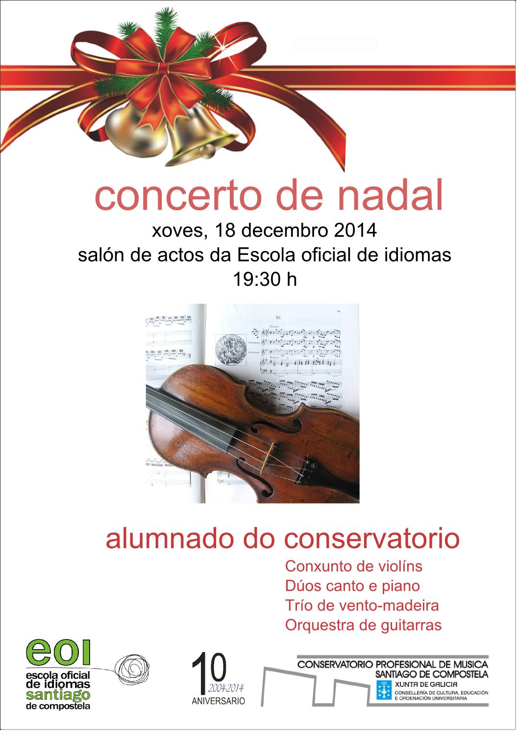 Cartel Concerto Nadal