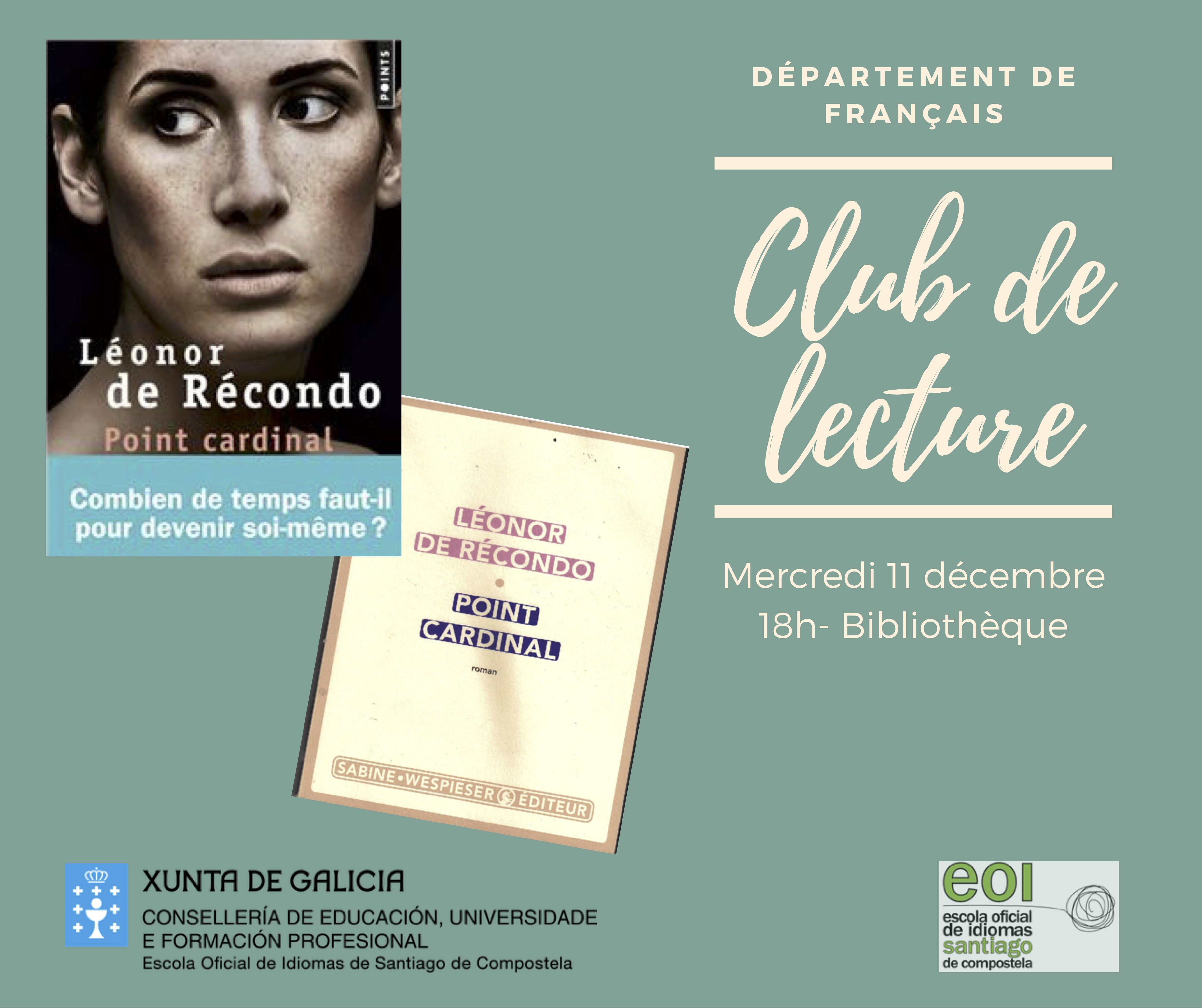 Club de lectura francés