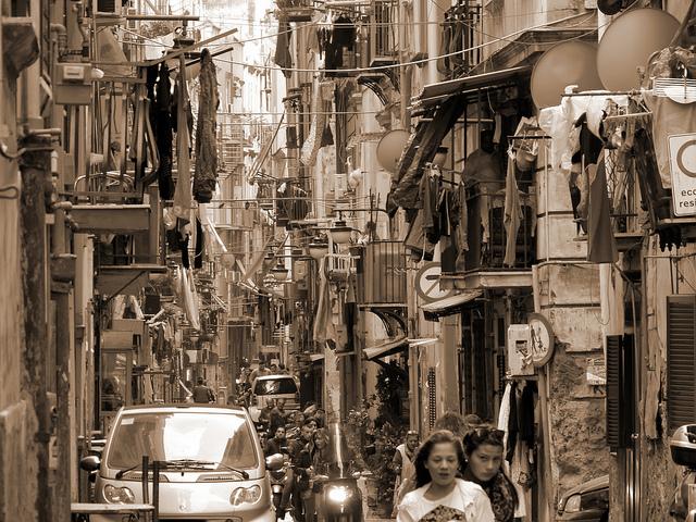 Nápoles: Quartieri Spagnoli.