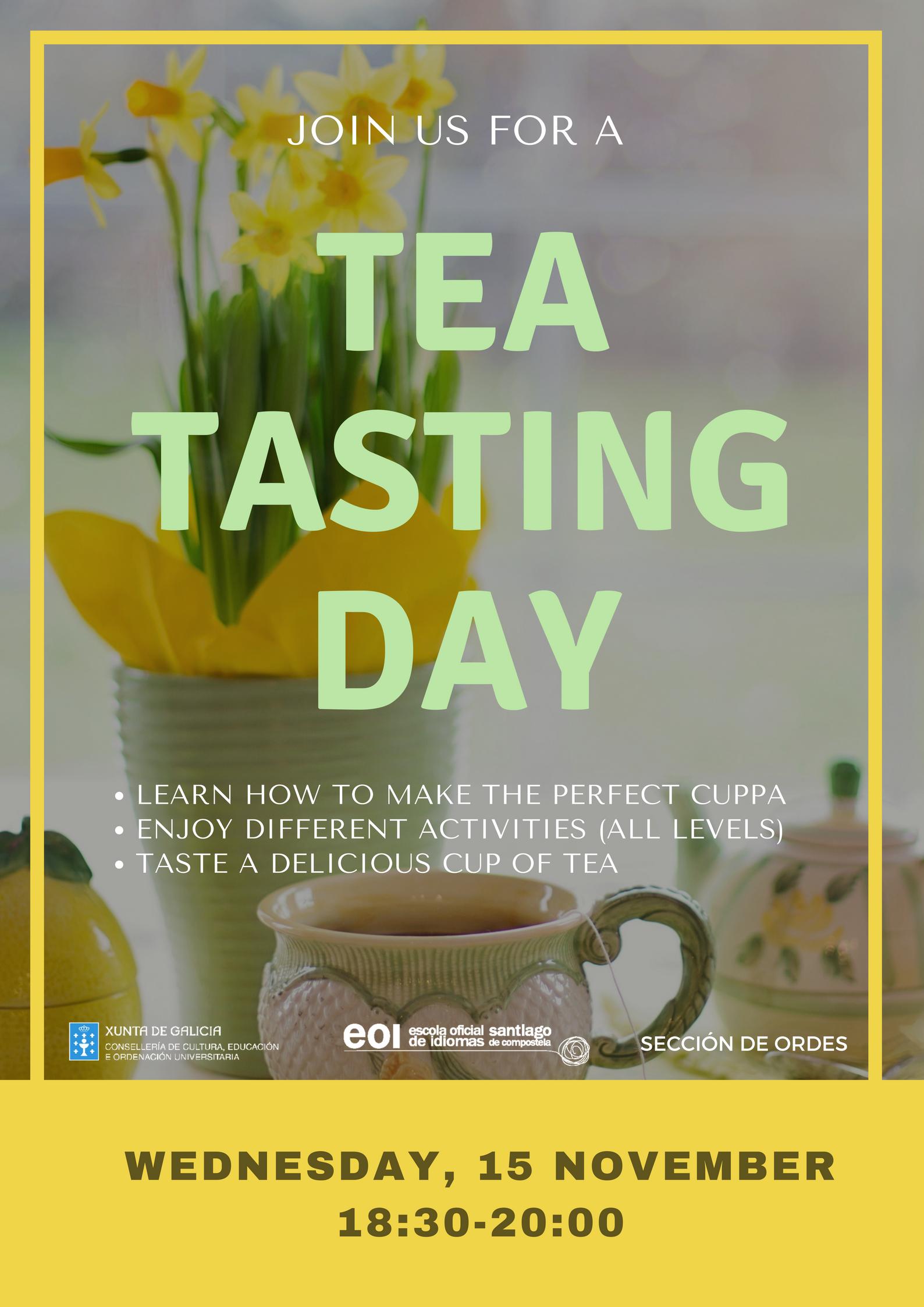 Tea Tasting Day