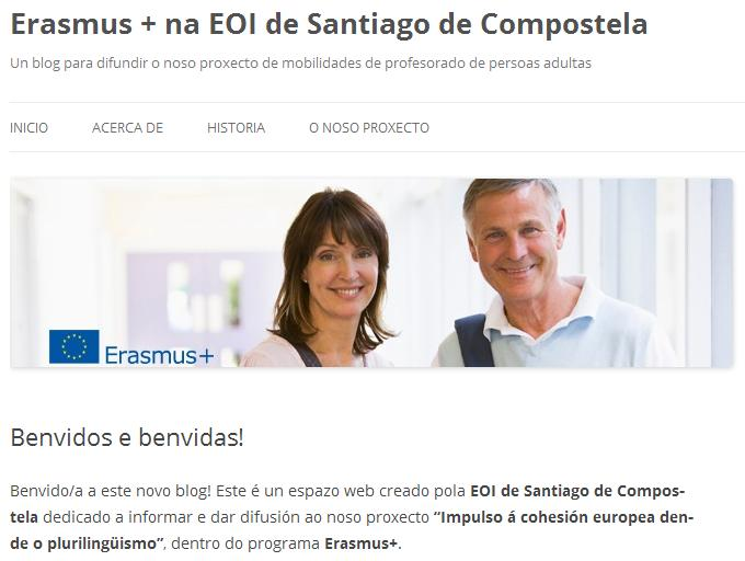 Blog de difusión do programa Erasmus+ no centro