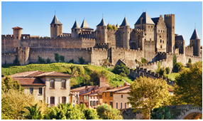 A cidadela de Carcassonne