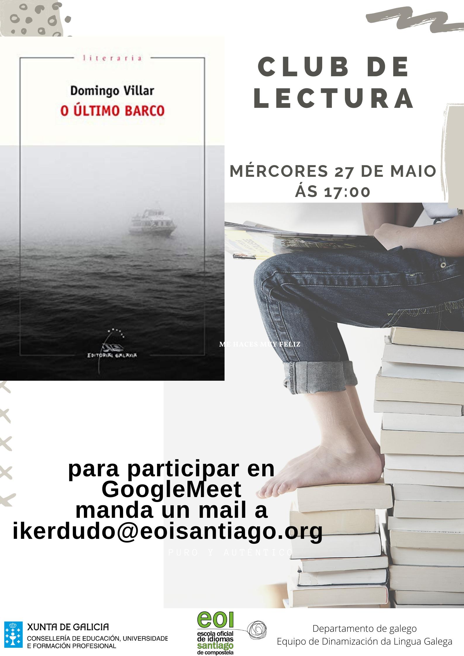 club de lectura galego