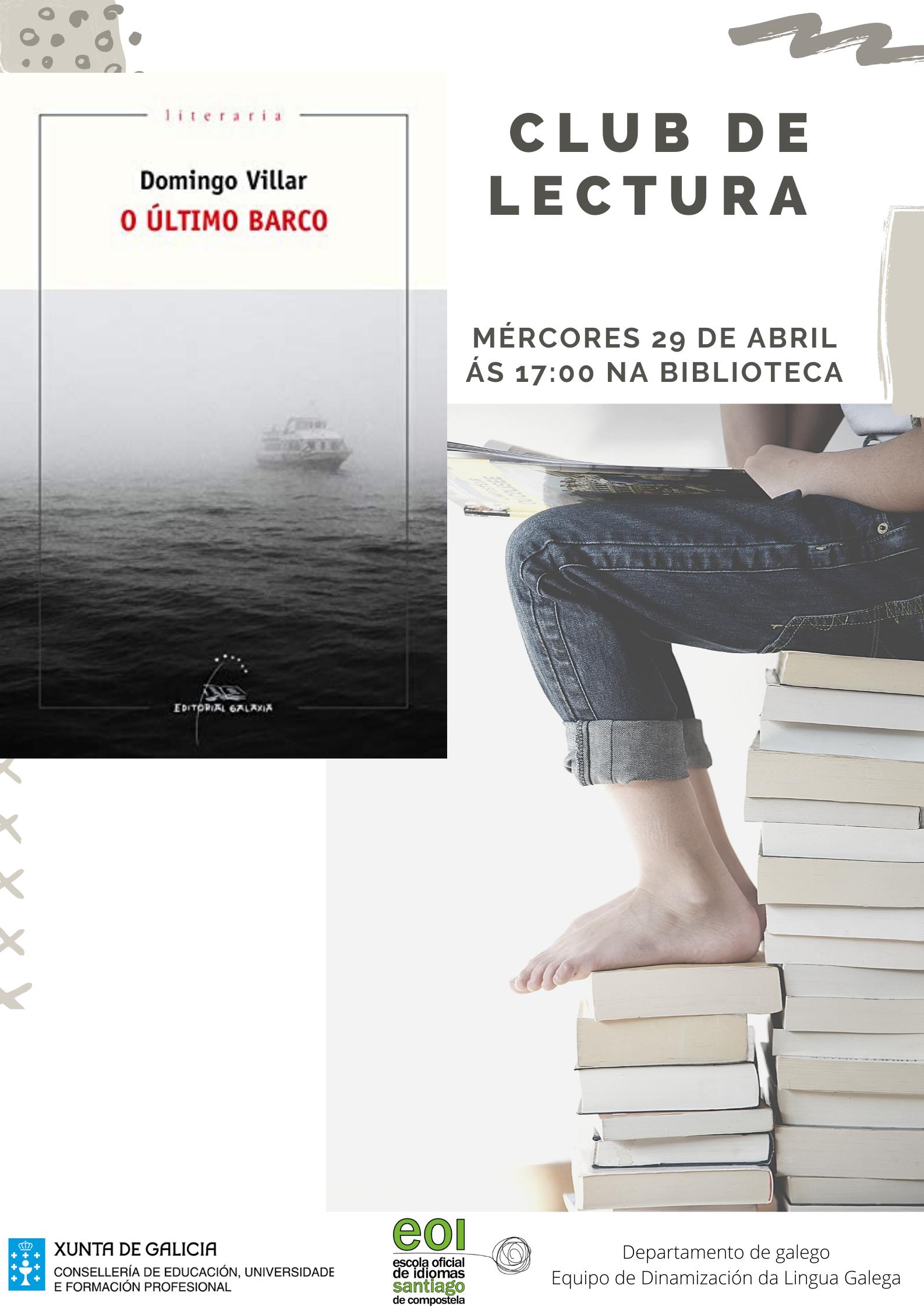 Club de lectura de galego