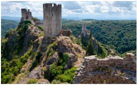 O castelo cátaro de Peyrepertuse