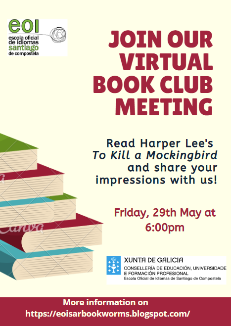 Virtual book club meeting