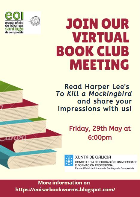 Virtual book club meeting