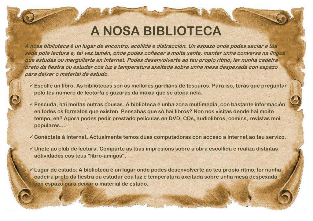 BIBLIOTECA EOI OURENSE