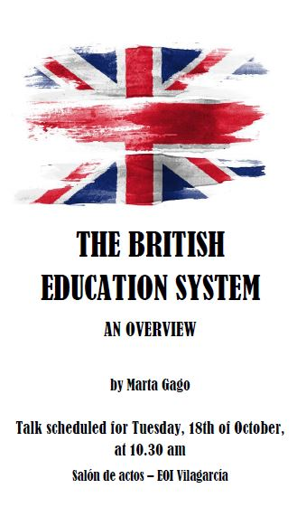 The British Education System - An overview