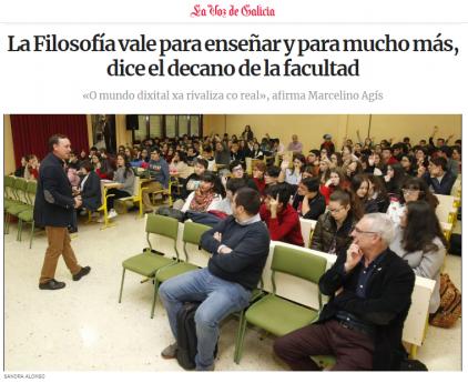 Conferencia de Marcelino Agís