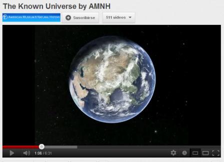 AMNH. O universo.