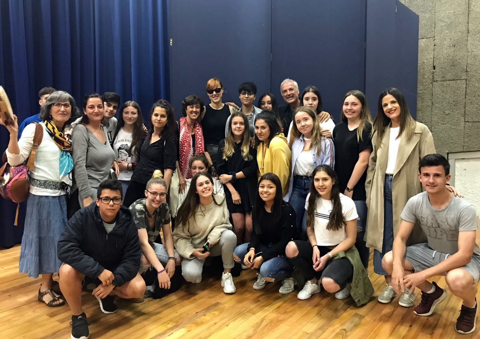Concerto de SES a estudantes do Concello de Culleredo, na Universidade Laboral