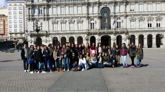Visitando A Coruña