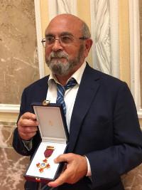 Ricardo Martín, condecorado