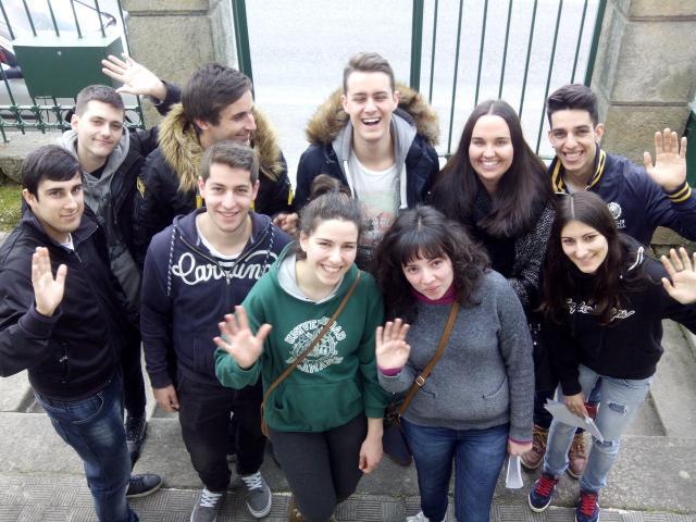 fotos alumnos Erasmus e Leonardo