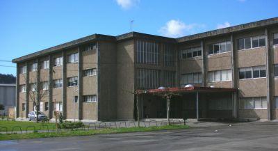 Entrada ao edificio principal