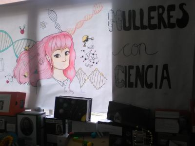 mulleres con ciencia