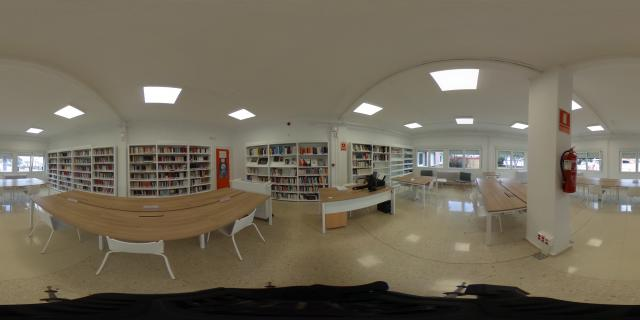 Imaxe 360 biblioteca