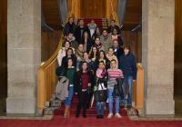 Visita ao Parlamento de Galicia