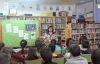 Visitounos a escritora Marisol Órtiz de Zárate