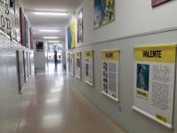 Exposición de AMNISTÍA INTERNACIONAL: VALENTE