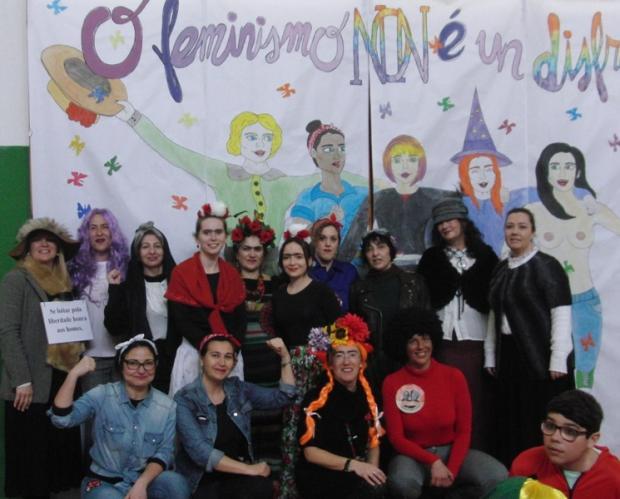 Mira o vídeo do Entroido, 2019: o feminismo non é un disfraz!