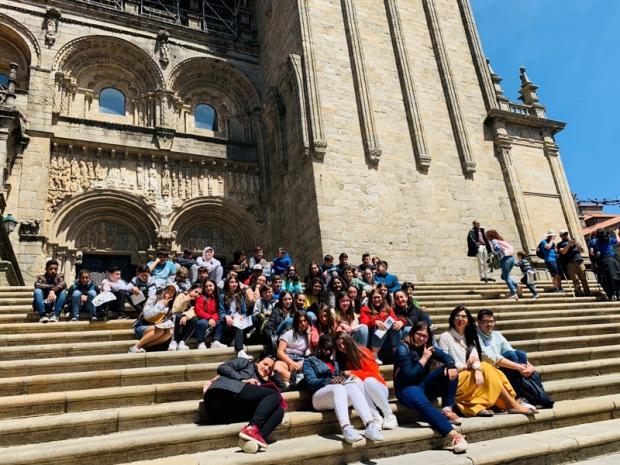 Visitamos en Compostela o Pórtico da Gloria e o Museo de Historia Natural