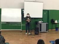 VISITA DE EVA MEJUTO