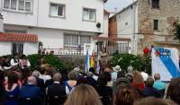 Alumnado e profesorado do Leliadoura honraron a memoria de Plácido Betanzos