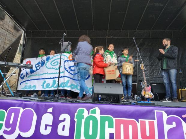Alumnado do IES Leliadoura gañadores do terceiro premio do Correlíngua 2019