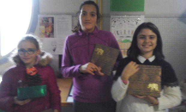 Premios gañadoras do concurso de cabazas Samáin da ANPA