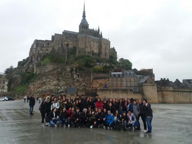 Excursión do alumnado de Francés