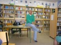 Visita do escritor Antón Riveiro Coello