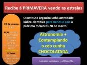 MÉRCORES 20 DE MARZO: O INSTITUTO RECIBE Á PRIMAVERA, ALUMNADO E PAIS E NAIS
