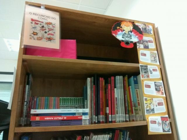 foto do interior da biblioteca